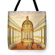Bacchus Temple Tote Bag