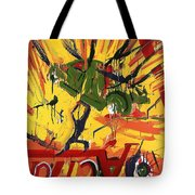 Action Abstraction No. 1 Tote Bag