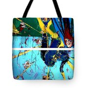 Action Abstraction No. 21 Tote Bag