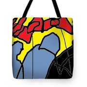 Action Characters Tote Bag