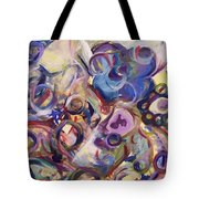 Action Reaction Tote Bag