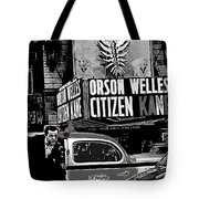 Actor Co-writer Director Orson Welles Premier  Citizen Kane Palace Theater New York  May 1 1941-2014 Tote Bag