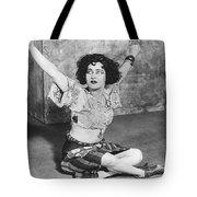 Actress Alla Nazimova Tote Bag