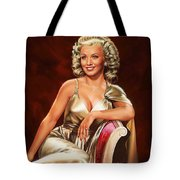 Actress Carole Landis Tote Bag