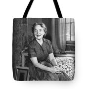 Actress Helen Hayes Tote Bag