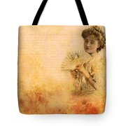 Actress In The Pink Vintage Collage Tote Bag