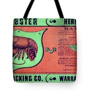 Ad Lobster, C1867 Tote Bag