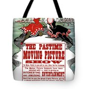 Ad Moving Picture, 1913 Tote Bag