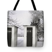 Adam And Eve Not For Me Tote Bag