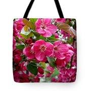 Adams Crabapple Blossoms Tote Bag