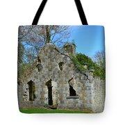 Adare Chapel Ruins Tote Bag