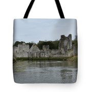 Adare Ireland Views Of Desmond Castle Tote Bag
