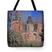Addams Family House Tote Bag