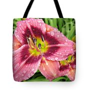 Addie Branch Smith Daylily Drops Tote Bag