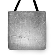 Adelaide Street Map - Adelaide Australia Road Map Art On Colored Tote Bag