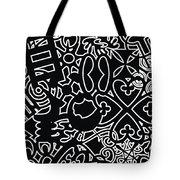 Adinkra Splash Tote Bag