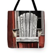 Adirondack Chair Tote Bag