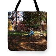 Adirondack Chairs 2 - Davidson College Tote Bag