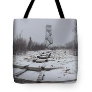 Adirondack Fire Tower 2 Tote Bag