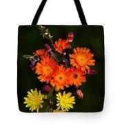 Adirondack Flowers Tote Bag