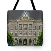 Adjourned Tote Bag