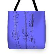 Adjustable Shotgun Choke Control Patent Tote Bag