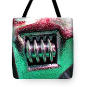 Adjustable Wrench F Tote Bag