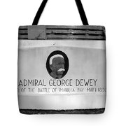 Admiral Dewey Monument Tote Bag
