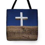 Adobe And Cross Tote Bag