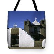 Adobe Church Taos Tote Bag