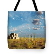Adobe House Tote Bag