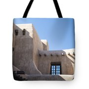 Adobe Sky Tote Bag