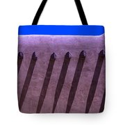 Adobe Wall Shadows Tote Bag