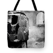 Adolf Hitler Shortly After His Release From Prison With A Mercedes 1924 - 2012 Tote Bag