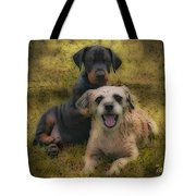 Adoption Is The Best Answer - Painting Tote Bag