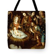 Adoration Of The Sheperds Tote Bag