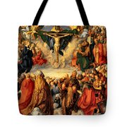 Adoration Of The Trinity Tote Bag