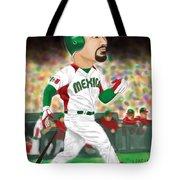 Adrian Gonzalez Team Mexico Tote Bag