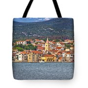 Adriatic Town Of Pirovac Waterfront Tote Bag