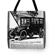 Ads Automobile, 1912 Tote Bag