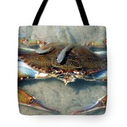 Adult Male Blue Crab Tote Bag