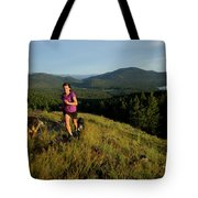 Adult Woman Trail Running Tote Bag