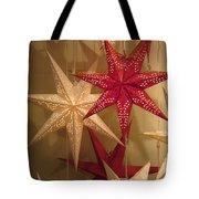 Advent Stars Tote Bag