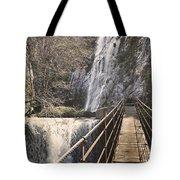 Adventure Retro Bridge Tote Bag