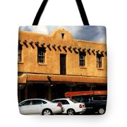 Adventures In Taos Tote Bag by Benjamin Yeager