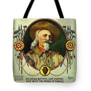 Adventures Of Buffalo Bill Tote Bag