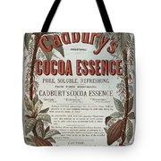 Advertisement For Cadburs Cocoa Essence From The Graphic Tote Bag