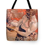 Advertisemet For Marmonier Fils Lyon Tote Bag