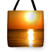 Aegean Sunset Tote Bag