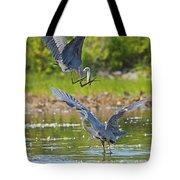 Aerial Attack Tote Bag
